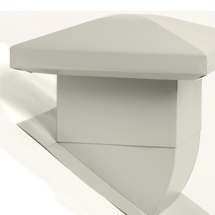 Venmar Attic Ventilators - Attic ventilator - Attic Ventilator for sloped roofs - Grey<br/>no. 60105