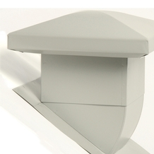 Attic Ventilator for sloped roofs - Grey<br/>no. 60105