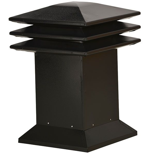 Venmar Attic Ventilators - Attic ventilator - Attic ventilator for flat roofs - Black <br/>no. 60313