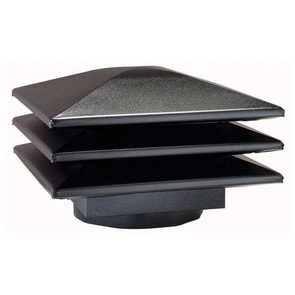 Venmar Attic Ventilators - Venmar - Attic ventilator for existing round base - Black <br/>no. 60353