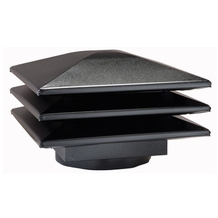 Venmar Attic Ventilators Venmar Attic ventilator for existing round base - Black <br/>no. 60353