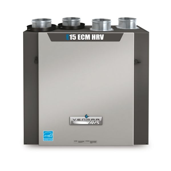 Venmar Air Exchangers - Venmar AVS - E15 ECM HRV