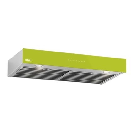 Range Hoods - Glass IU600ES Front Lime - 36 in.