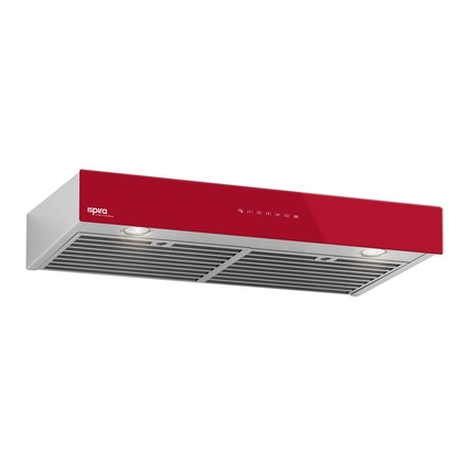 Range Hoods - Glass IU600ES Front Red - 36 in.