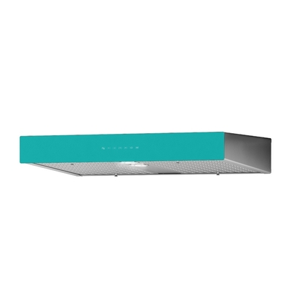 Range Hoods - Front Glass Turquoise Ispira C700 - 36 in