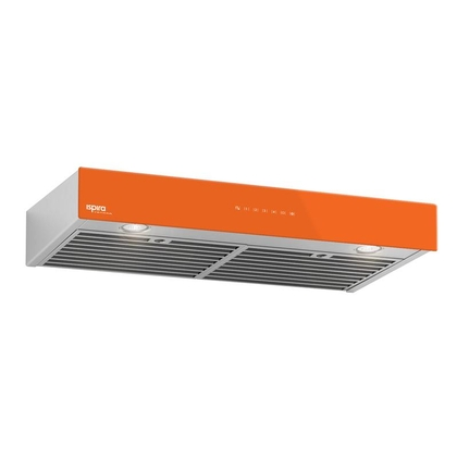 Range Hoods - Glass IB700 Front Orange - 30 in.