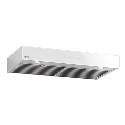 Range Hoods - Glass IB700 Front White - 30 in.