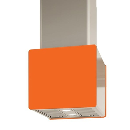 Range Hoods - Glass IK700 Front Orange - Rear - 16 in.