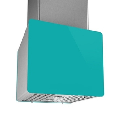 Range Hoods - Glass turquoise back Ispira CIC700 - 16 in