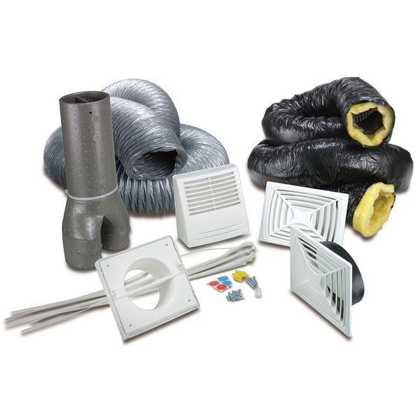 installation kit hepa3100 basement venmar accessories