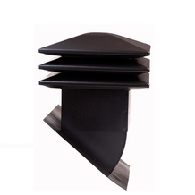 Attic ventilator for sloped roof - Black <br />no. 60303