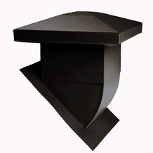 Attic Ventilator for sloped roofs - Black <br/>no. 60103