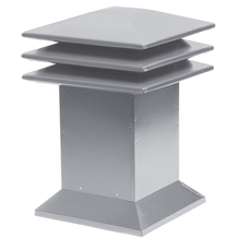 Attic ventilator for flat roofs - Grey <br/>no. 60315