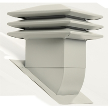 Attic ventilator for sloped roof - Grey <br/>no. 60305