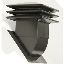 Attic ventilator for sloped roof - Brown <br/>no. 60306