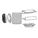Venmar Accessories Non-duct kit for CC32I | Venmar