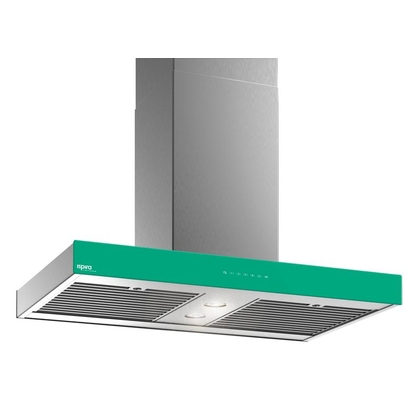 Range Hoods - Glass IS700 Front Emerald - Front with control