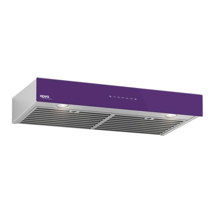 Range Hoods - Glass IU600ES Front Purple - 36 in.