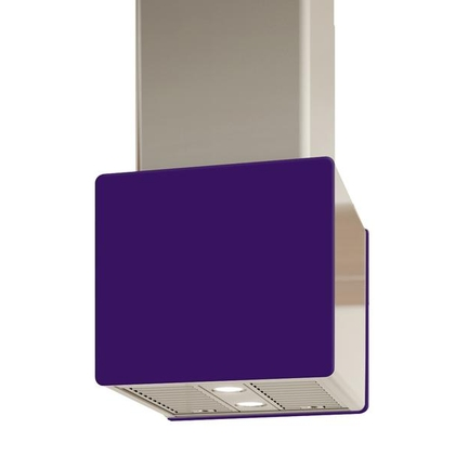 Range Hoods - Glass IK700 Front Purple - Rear - 16 in.