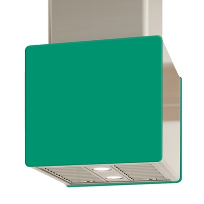 Venmar - Range Hoods - Glass IK700 Front Emerald - Rear - 16 in. Rear Glass Pannel IK700 Emerald - 16 in.