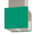 Venmar Accessories Glass IK700 Front Emerald - Rear - 16 in.