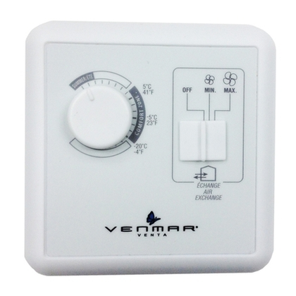 Air Exchangers - 40310 VENTA wall control