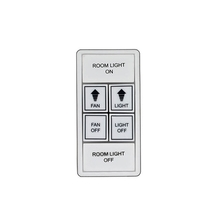 Wall mounted remote control<br/>No. ACW1WH