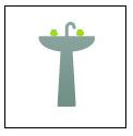 Salle de bain, vanEE